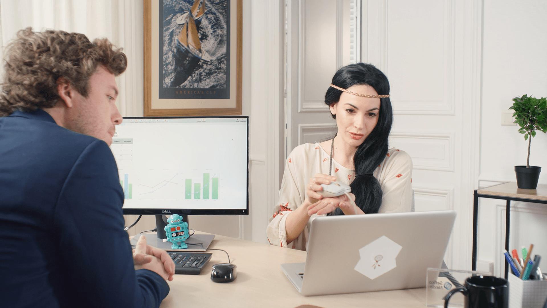Pocahontas et les nouvelles technologies